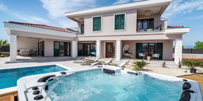 NAJBOLJE OD DALMACIJE Villa Navia izgrađena je za potpuno uživanje