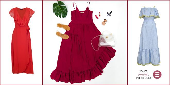 JOKER FASHION PORTFOLIO: Maksi haljina, maksi elegancija