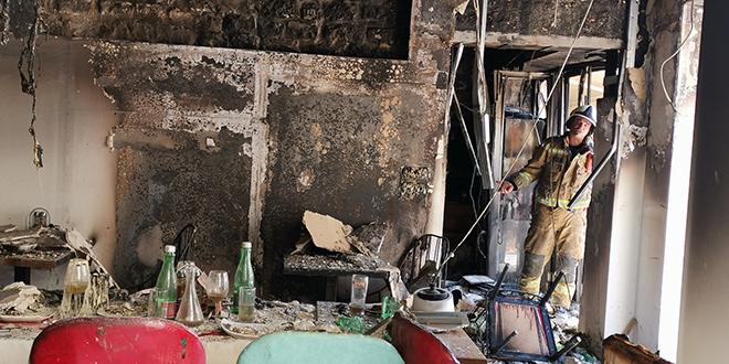 FOTOGALERIJA Pogledajte kako izgleda objekt koji je sinoć izgorio na Pjaci