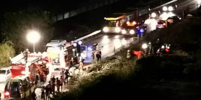 PROMETNA NESREĆA U SPLITU Vozač izletio s ceste i poginuo