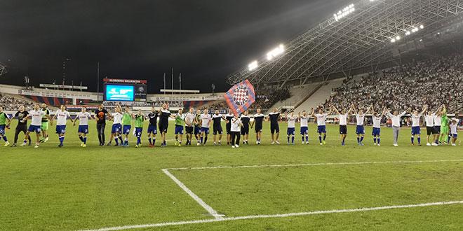 DUPLIN OSVRT: Feštajte, guštajte, Hajduk je srcem i agresivnošću stigao do veličanstvene pobjede!