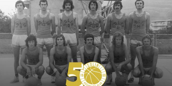 KK Solin slavi 50 godina kluba, na proslavu stižu 'žuti'