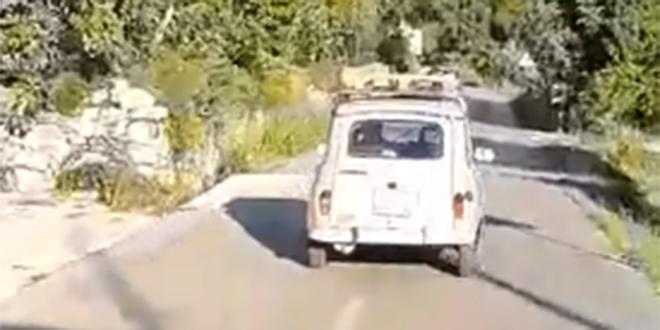 NJEGOVA JE CIJELA CESTA Pogledajte kako vozi legendarni Renault 4