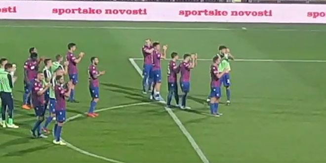 VIDEO: Pogledajte kako je Torcida ispratila igrače Hajduka s Rujevice