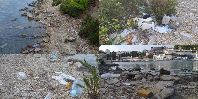 OKOLIŠ PATI: Plastične boce, vrećice i drugi otpad na obali Zente