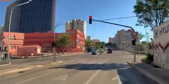 VIDEO: Pogledajte ovaj prolaz kroz crveno usred Splita