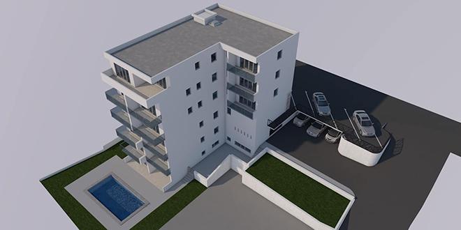 VIZUALIZACIJA Gradi se moderna zgrada u Imotskom, imat će i bazen