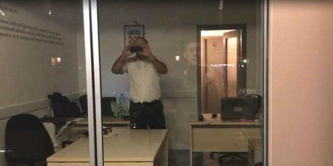 MALO MISTO Getanin i komunalni redar jedan drugoga snimaju mobitelima, pozvana i policija