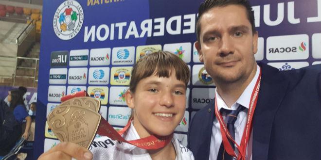 Članica judo kluba Dalmacijacement vraća se s broncom sa Svjetskog kadetskog prvenstva
