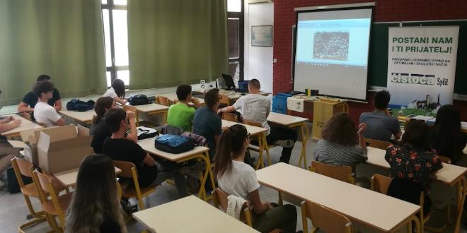 Čistoća i Prirodoslovna škola organizirali radionicu o odvajanju otpada