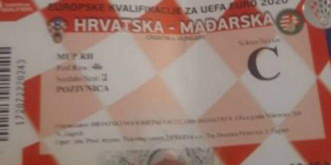JE LI OVO MOGUĆE Na Njuškalu se prodaju MUP-ove ulaznice za utakmicu s Mađarskom?!