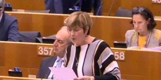 Ruža Tomašić na sjednici Europskog parlamenta zatražila od svih članica da pomognu u pronalasku nestalih pomoraca