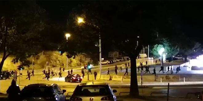 VIDEO Došlo je do tučnjave navijača, jedan Mađar završio u bolnici