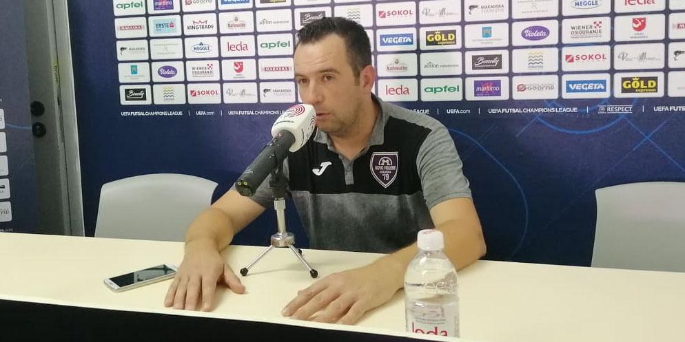 TRENER NOVOG VREMENA: 'Gazili smo ih cijelu utakmicu, moji momci su strašna ekipa!'