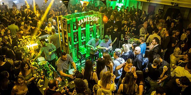 TULUM NA TRAJEKTU Pogledajte kako je bilo na Jameson partyju u splitskoj luci
