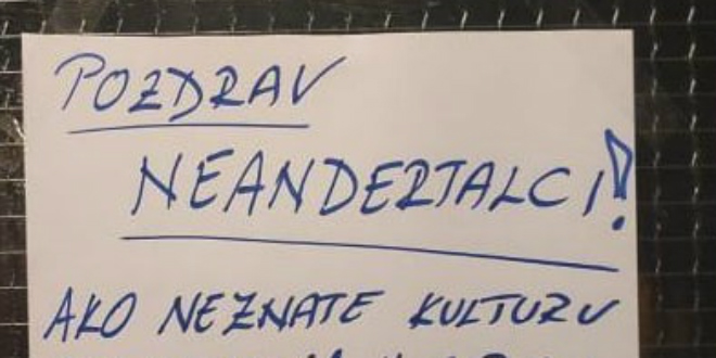 Iznervirani Splićanin ostavio poruku susjedima koji renoviraju stan