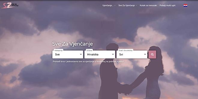 VIRTUALNI SAJAM Novo ruho portala 'Sve za vjenčanje'