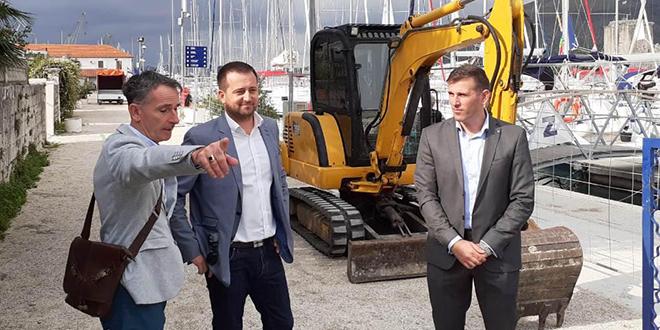 Počeli radovi na Sustavu fekalne kanalizacije ACI marine Trogir