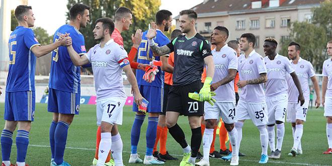 KRAJ: Remi u Kranjčevićevoj, Hajduk više nije prvi na tablici
