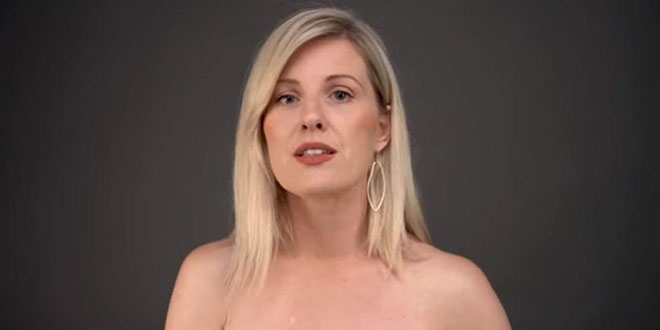 VIDEO Ida Prester se skinula i pokazala kako obaviti samopregled dojki