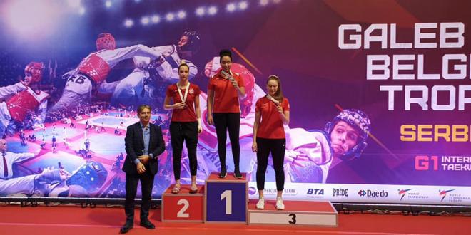 Ivana Babić i Leon Glasnović slavili protiv svjetskih prvaka i olimpijskih osvajača odličja
