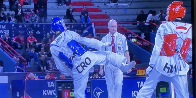 Lovre Brečić seniorski viceprvak Europe u taekwondou