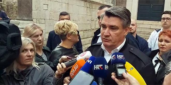 VIDEO Zoran Milanović u Splitu: Hajduk je igrao s petokrakom na prsima, mogao si se nabosti na nju, to je ružno izgledalo...