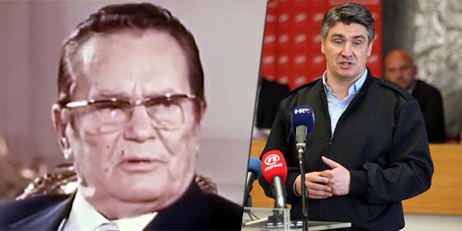 HDZ-ovci SE NASLAĐUJU 'Čestitamo Milanoviću što se odrekao Tita, makar znamo da je u pitanju samo dodvoravanje desnom biračkom korpusu'