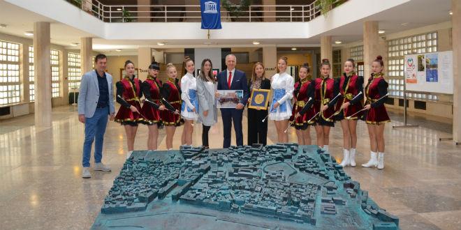 Prijem za Splitske mažoretkinje u Banovini: 'Iza vaših uspjeha stoji ozbiljan, discipliniran i predan rad'