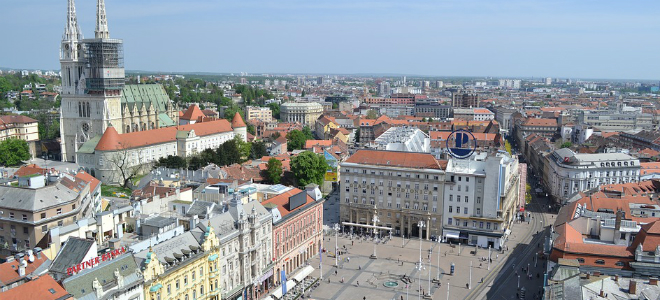 HAJDUKOVA PORUKA POTPORE: 'Drži se, Zagrebe!'