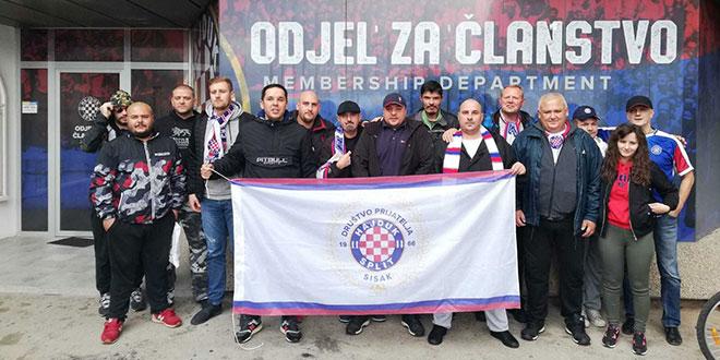 U parku Za sva vrimena i jedno od najstarijih društava prijatelja Hajduka