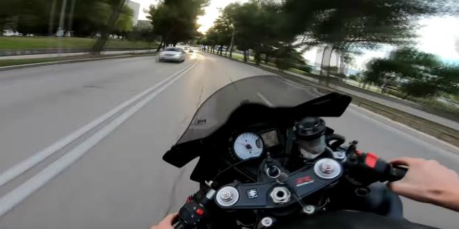 GTA NA SPLITSKIM ULICAMA Pogledajte opasnu jurnjavu motorom po gradu
