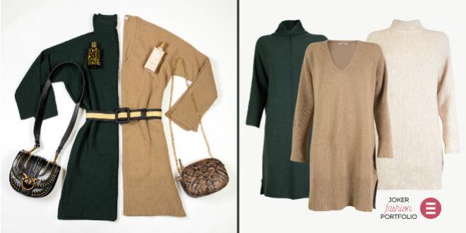 JOKER FASHION PORTFOLIO: Dani za pletene haljine