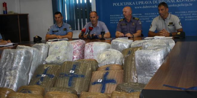 Vozač autobusa i vlasnik agencije optuženi za šverc marihuane vrijedne 4,6 milijuna kuna