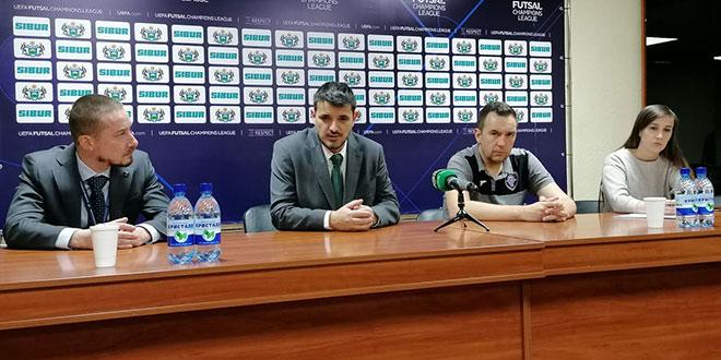 TRENER NOVOG VREMENA: Nisam zadovoljan jer su igrači previše poštovali Sporting