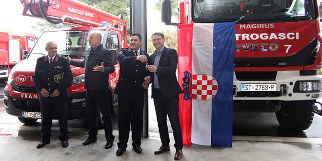 Vatrogasci dobili nova vozila