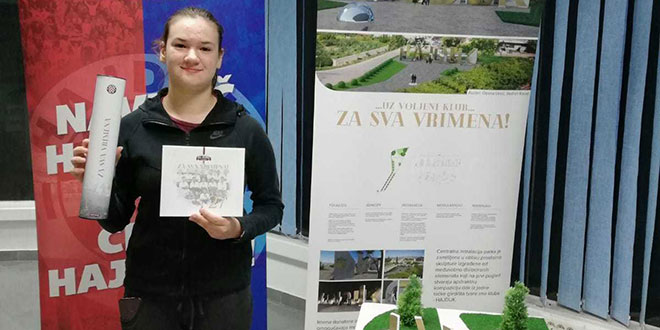 Trinaestgodišnja djevojčica svu ušteđevinu dala za ime u parku Za sva vrimena kraj Poljuda!