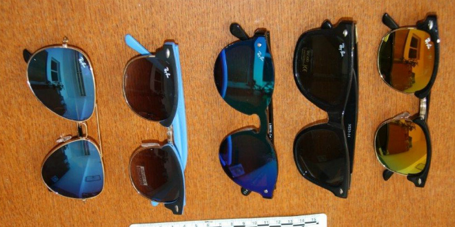 LJETNI POSAO NA VIRU Uhvaćeni s 2000 pari krivotvorenih sunčanih naočala