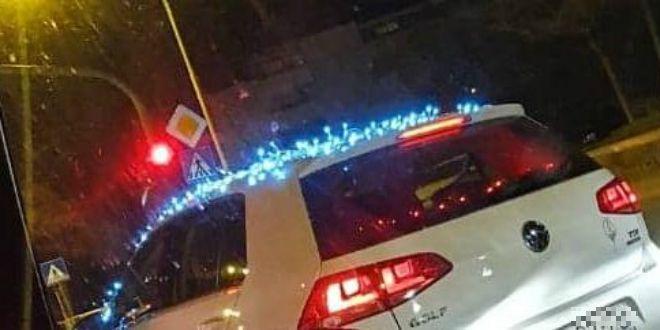 ADVENTSKO LUDILO: 'Božićni Golf' na splitskim ulicama