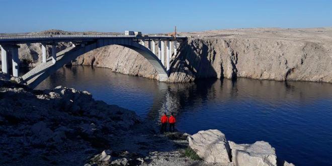 Muškarac nestao u blizini Paškog mosta