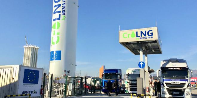 Otvorena prva hrvatska punionica za ukapljeni prirodni plin