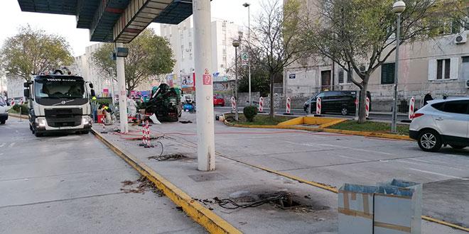 Zatvorena benzinska postaja Pojišan