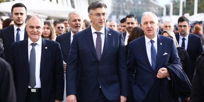 Plenković: Ideja pomirbe unutar hrvatskog bića najvažnije je što nam je dr. Franjo Tuđman ostavio, a imao je snage i za pomirbu sa srpskom manjinom