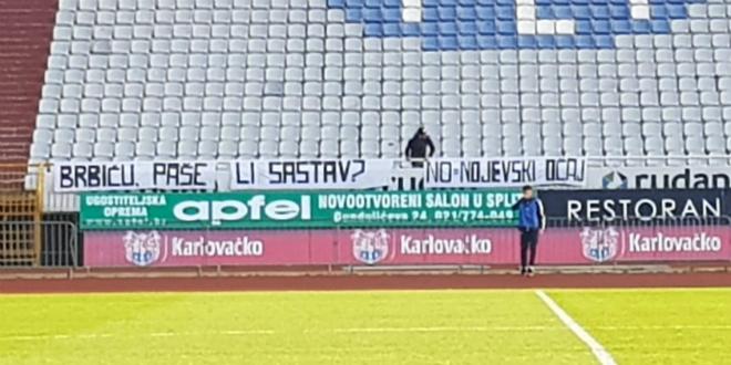 Pogledajte poruku s istoka Poljuda uoči ogleda Hajduka II i Šibenika