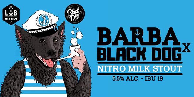 NOVO SPLITSKO PIVO Dođite večeras u Black Dog i probajte Nitro Milk Stout