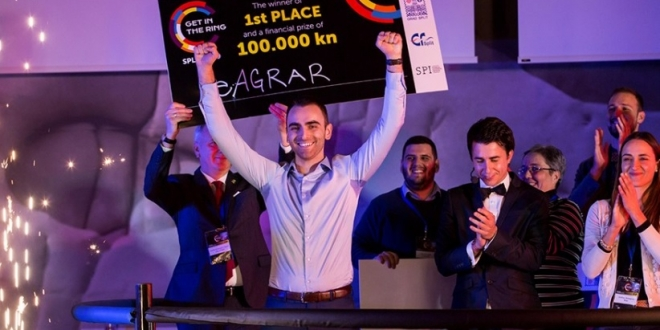 STARTUP SPEKTAKL U SPLITU: eAgrar osvojio 100.000 kuna i put na globalno natjecanje!