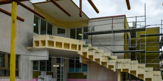 FOTOGALERIJA Počela energetska obnova DV Latica na Sućidru