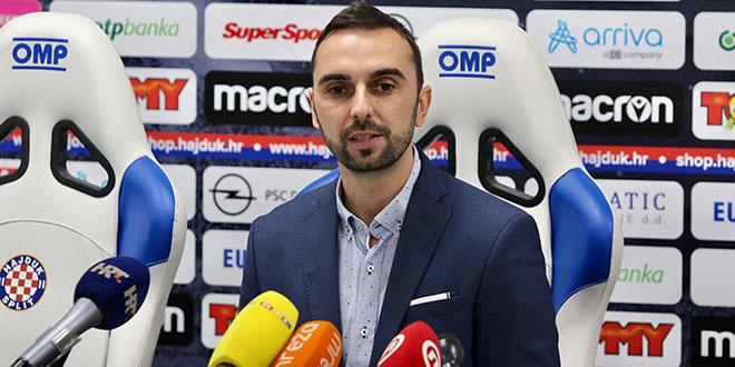 Hajdukov sportski direktor: Svi igrači su dobili individualni program i raspored treninga