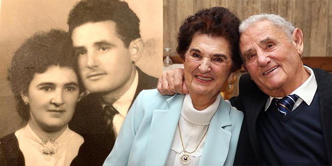 DIJAMANTNI PIR Jure i Sjeverka proslavili su 60 godina braka, a još balote skupa igraju!