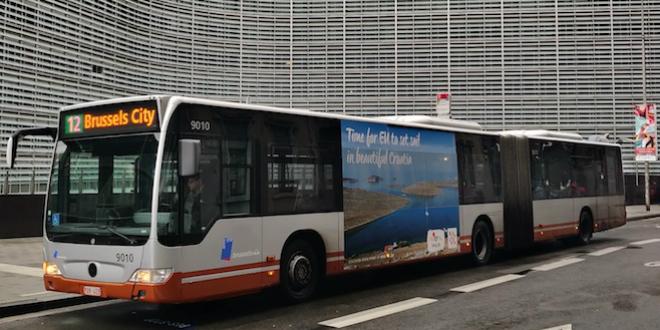 FOTOGALERIJA Motivi Hrvatske na najfrekventnijim lokacijama u Bruxellesu